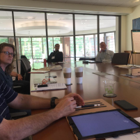 ITMS Board Meeting (Photo Daniel P. Horan, OFM)